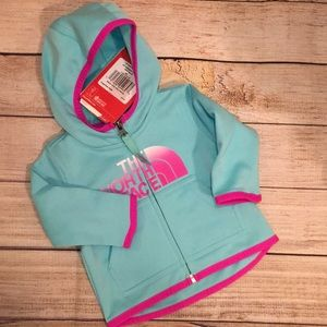 North Face Hoodie 0-3 Months